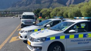 Western Cape traffic department