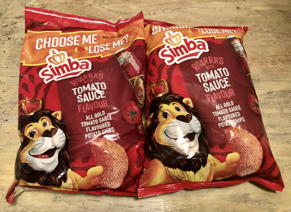 The tribe has spoken, Simba 'All Gold Tomato Sauce' flavour has been voted out