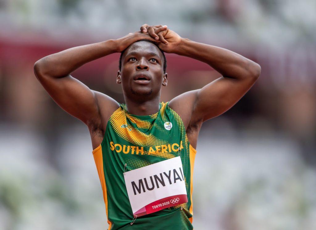 All three of Team SA's men's 200m sprinters advanced to semi-finals