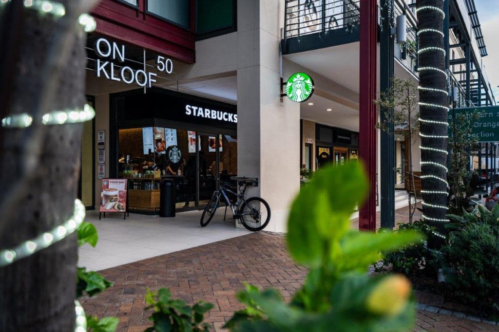 Kloof Street has a vibrant new resident on the block, Starbucks