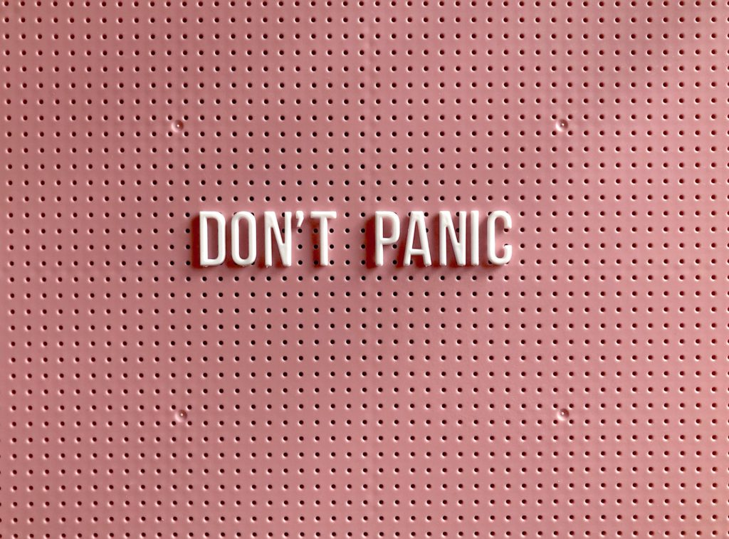 5 strategies to help you get over a panic attack