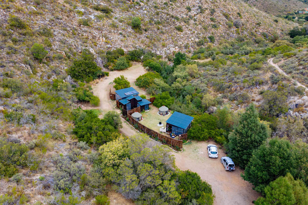 Conservation Club invites guests for a three night stay at the Yurt Camp in Botrivier