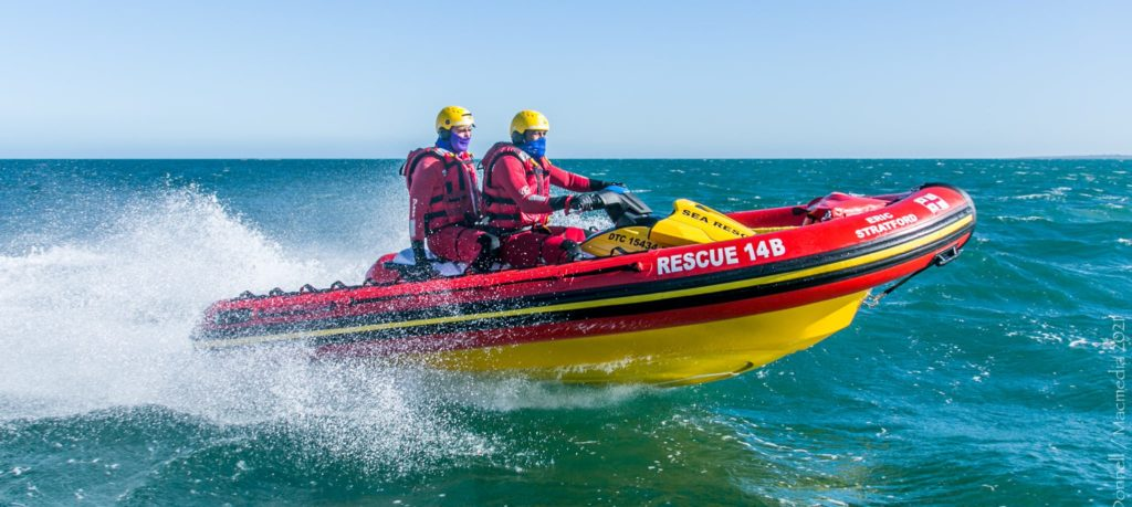 A busy weekend for NSRI with incidents in Melkbosstrand and Langebaan
