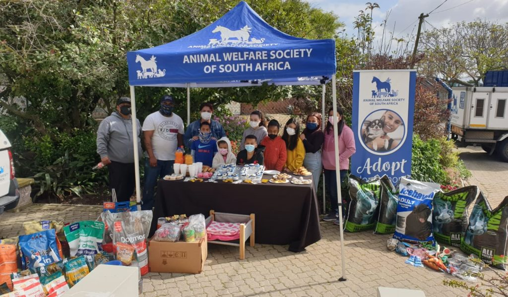 This 10-year-old spent his birthday party giving back to the animals at the AWS SA