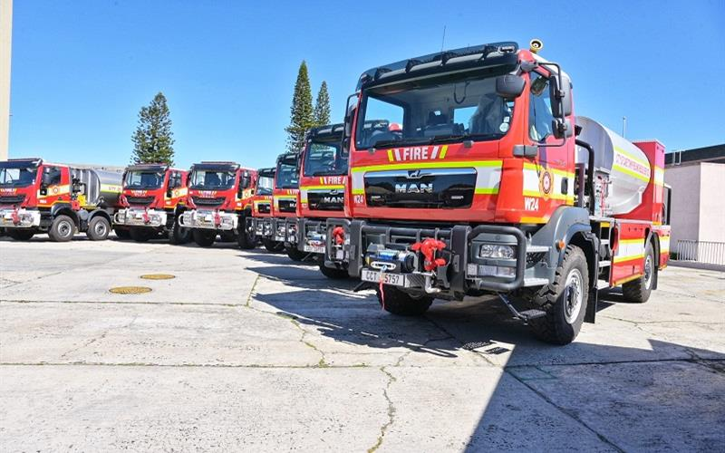 COCT unveils  19 new vehicles to assist with Fire and Rescue Service