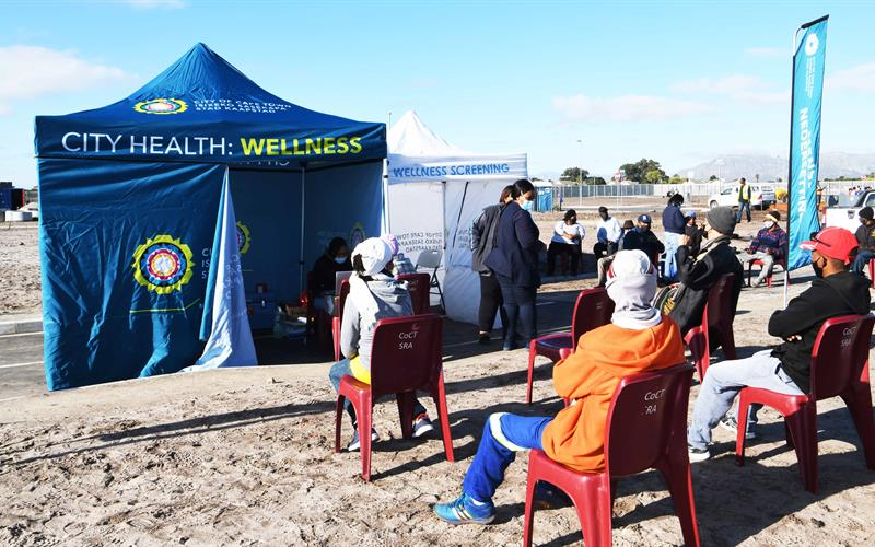 COCT continuing to deploy its mobile vaccination van