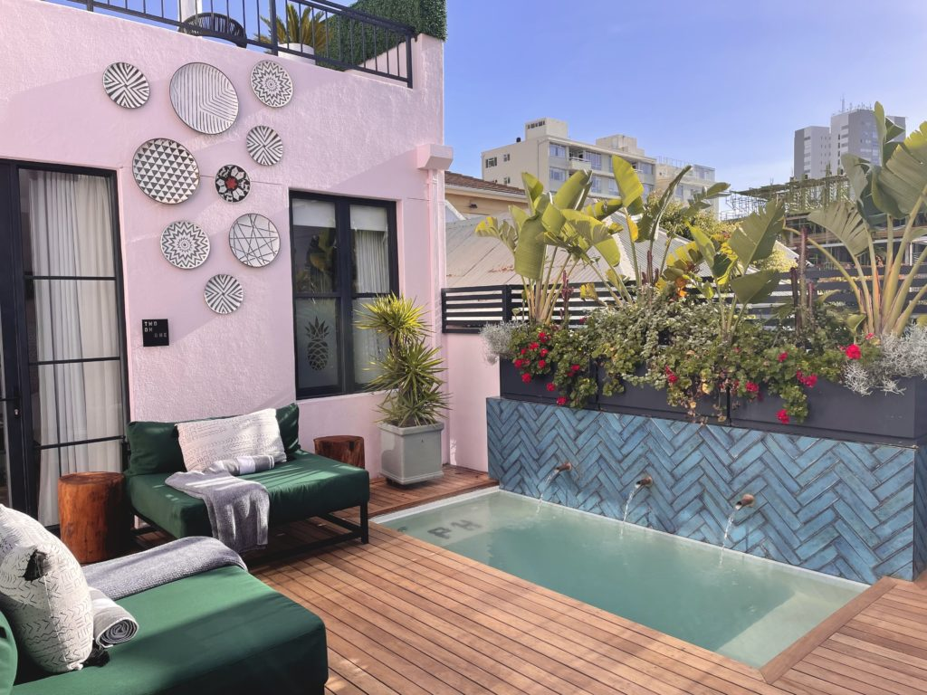 Pineapple House Boutique Hotel - Cape Town's next big thing