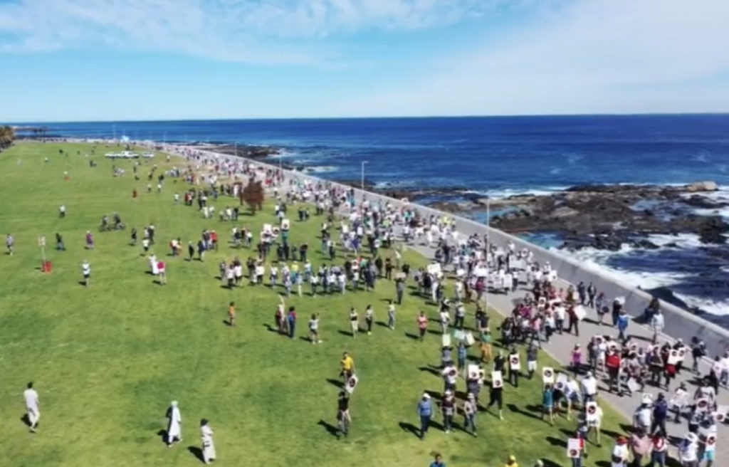 Anti-vaxx or right to freedom of choice? Sea Point protest deemed illegal