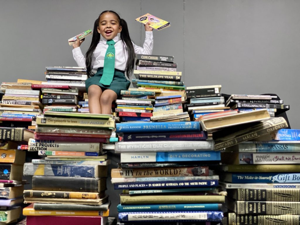 The #ReadDreamRepeat campaign aims to boost literacy levels at Mitchells Plain schools