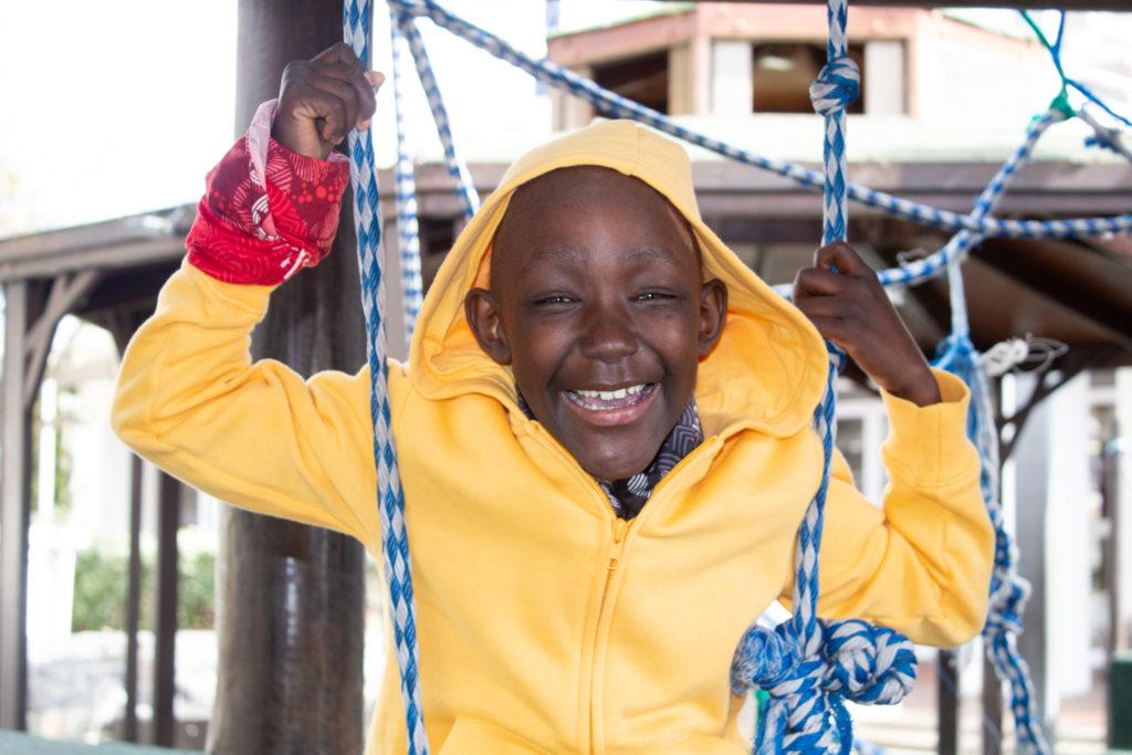 The boy who overcame aplastic anaemia - Luthando Sibiya's story