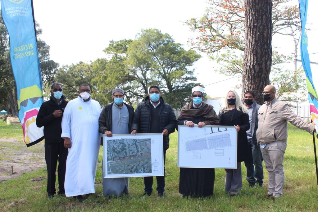 COCT opens a new Muslim burial section at Maitland Cemetery