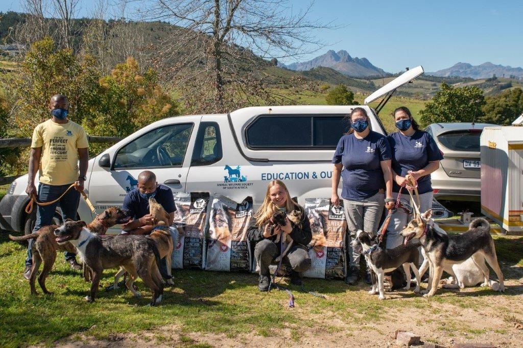 "The Animal Welfare Society of SA's ""puparazzi"" makes their debut"