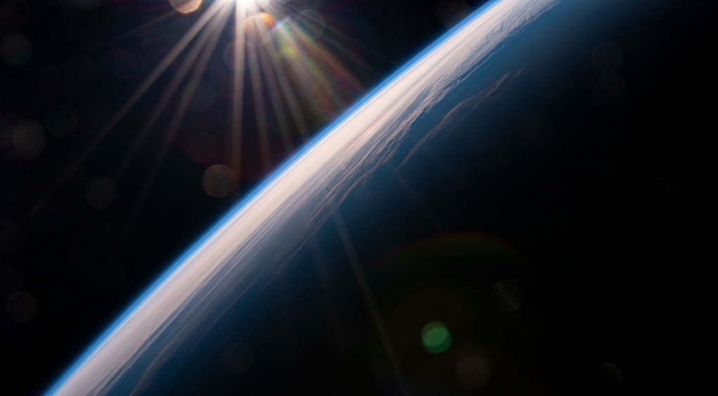 Astronauts share incredible images from Space Station
