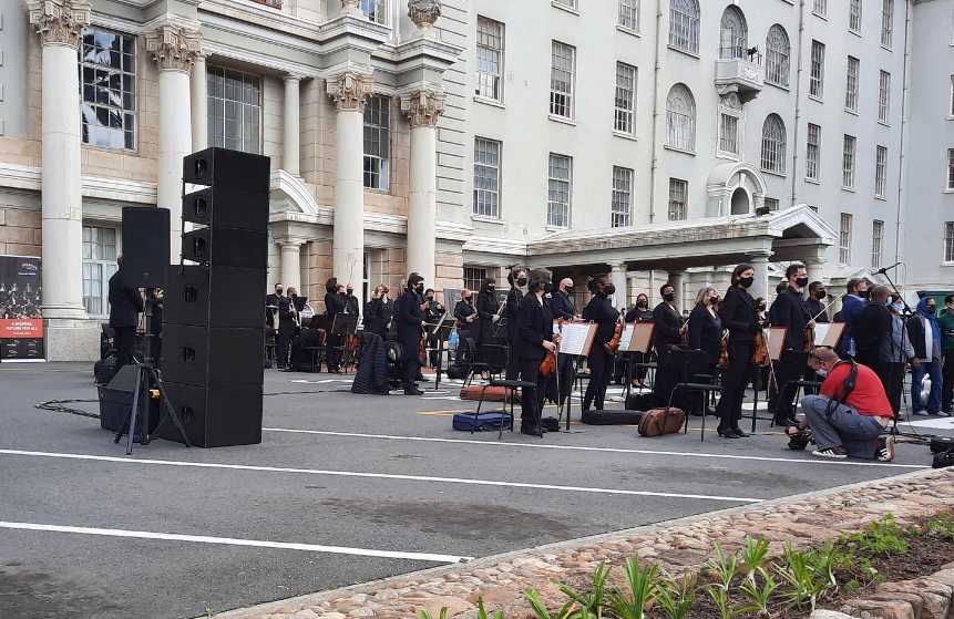 WATCH: CT Philharmonic Orchestra entertains frontline workers