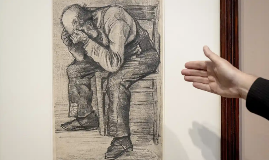 Revealed: never-before-seen drawing by Vincent van Gogh