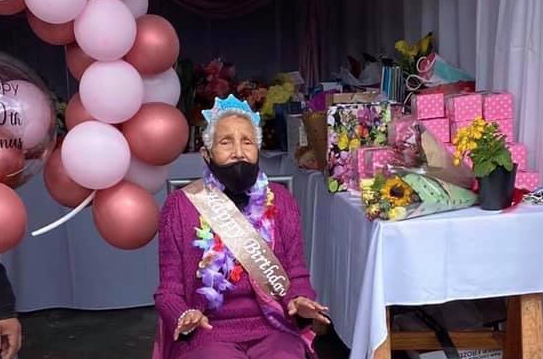 Cape Town resident celebrates her 100th birthday