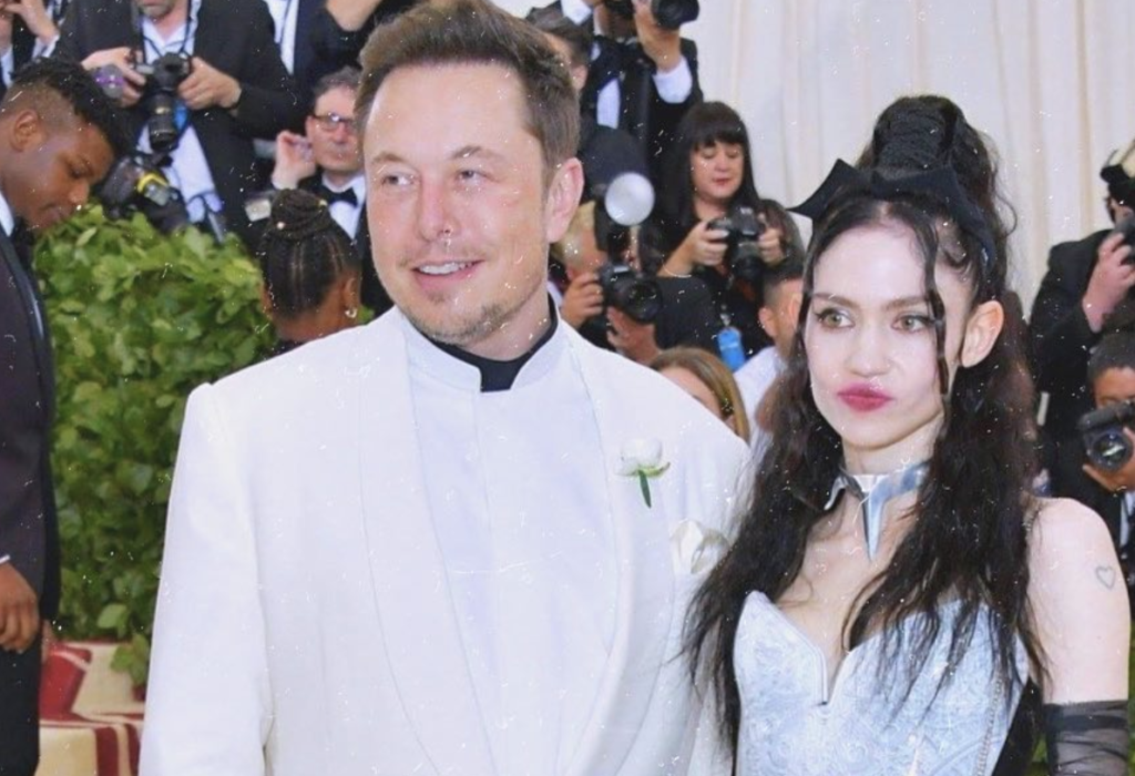 """Elon Musk and partner """"semi-separated"""" - what this means?"""