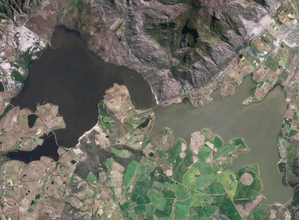 Look! Cape Town dams have filled up so wonderfully over the years