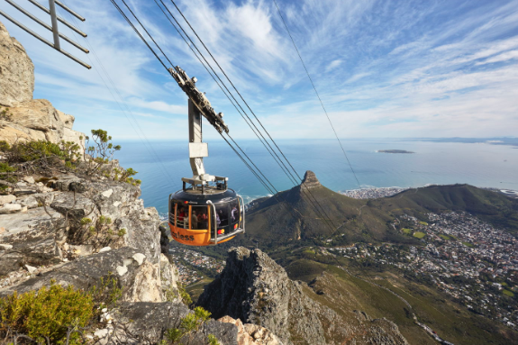 Table Mountain Cableway could be the world's best cable car experience!