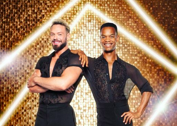 Strictly Come Dancing's first all-male couple will see a SA star on stage