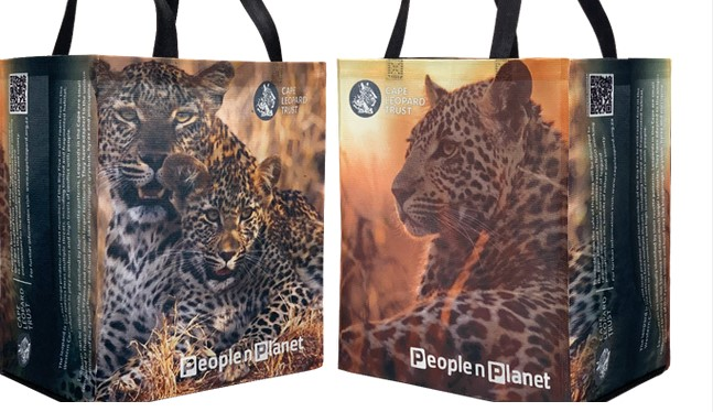 Pick n Pay and the Cape Leopard Trust creates a limited-edition reusable shopping bag