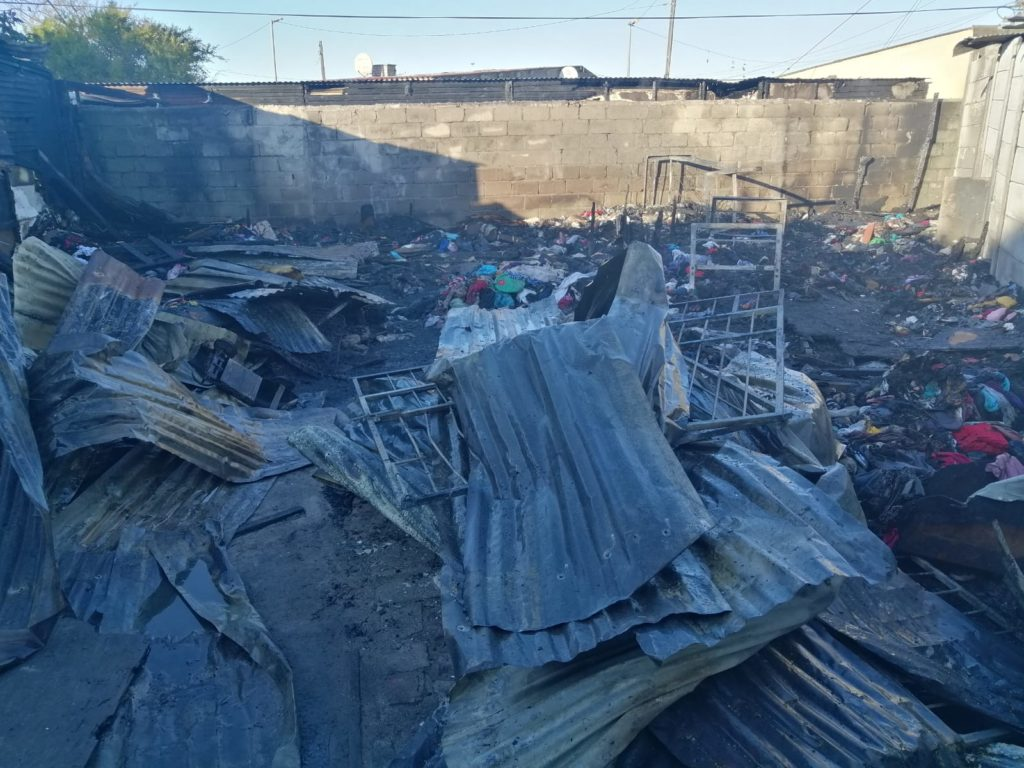 Bonteheuwel family loses everything in a house fire
