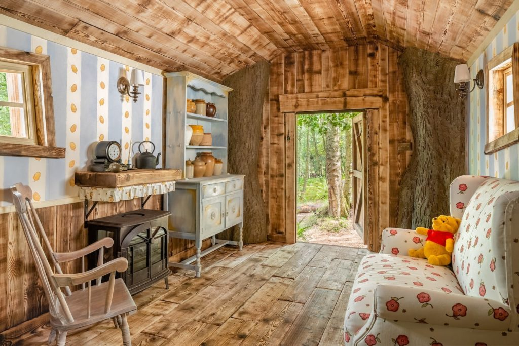 Take a peek inside this one-of-a-kind Winnie the Pooh Airbnb
