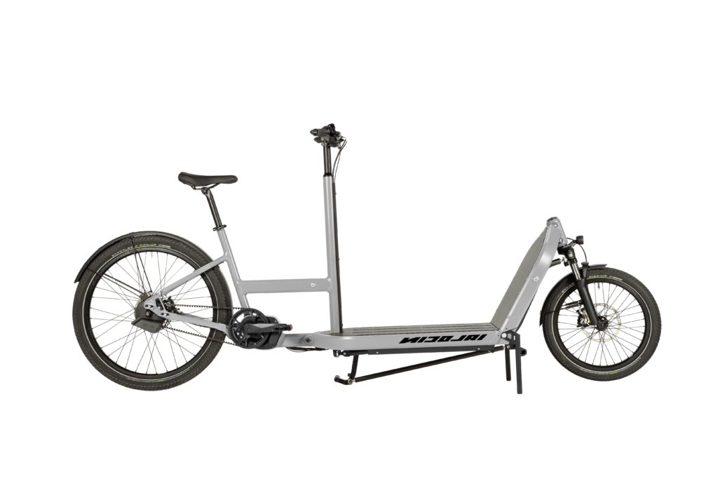 Transport your braai wood in style with the Nicolai NC-1 Cargo e-bike