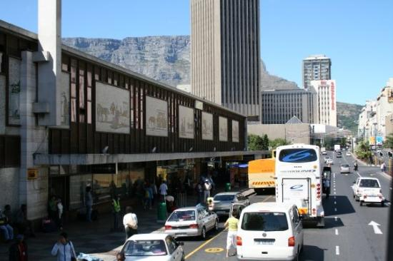Renovations have begun at the Cape Town Station forecourt