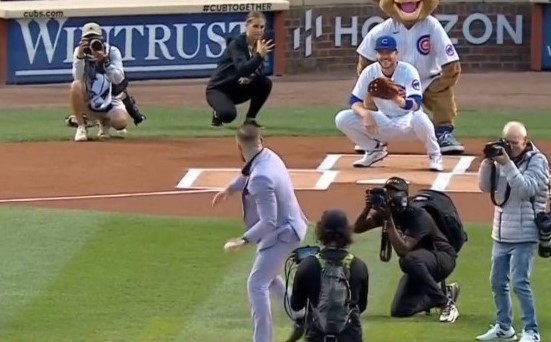 """WATCH: Conor McGregor's baseball pitch dubbed as """"the worst in history"""""""