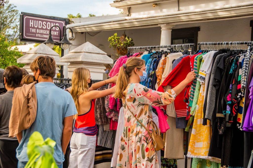 Explore the vibrant Dorp Street Weekend Market in Stellenbosch