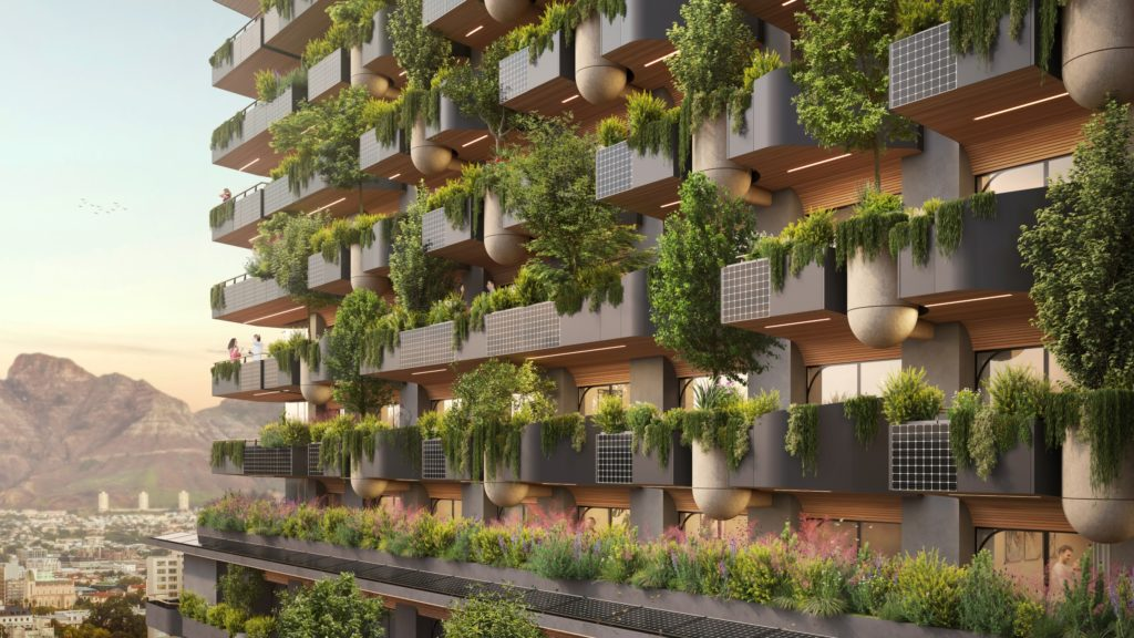 Cape Town to boast Africa's first Biophilic building, bringing nature to the city