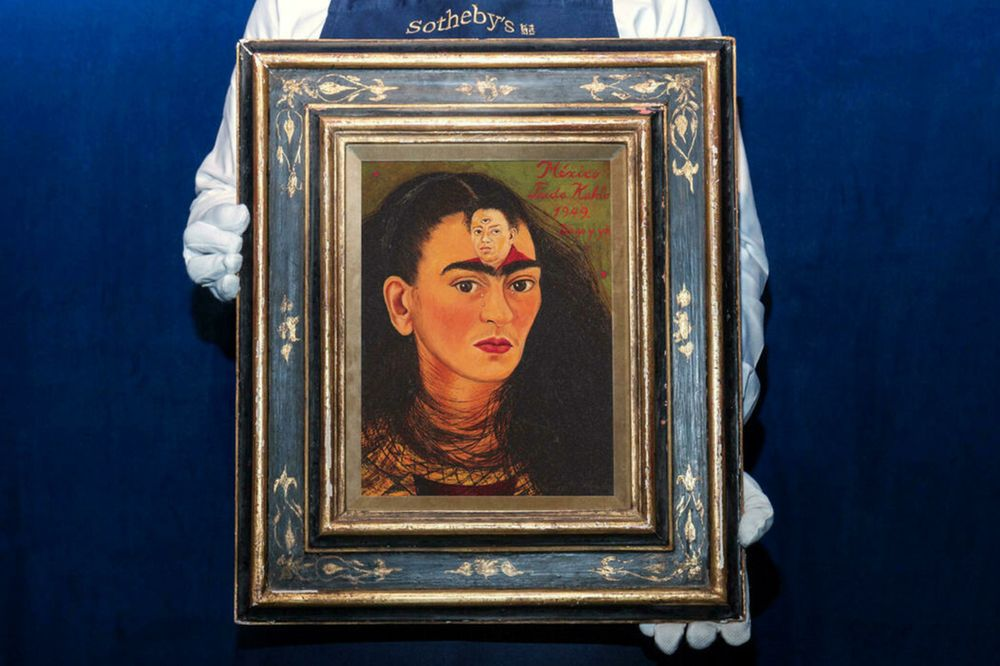 Frida Kahlo's work set to break auction records at R442 million