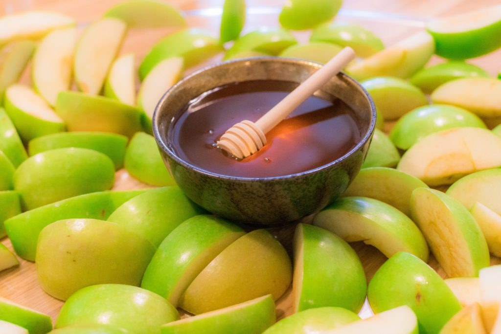 May your apples be honey-dipped and your New Year sweet
