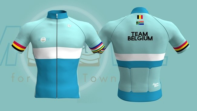 This snazzy cycling jersey that's helping rebuild the UCT library