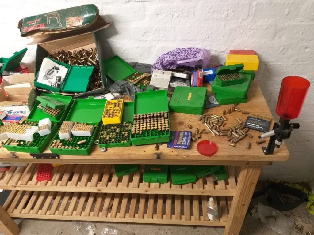 Large quantity of ammunition discovered in a Cape Town office
