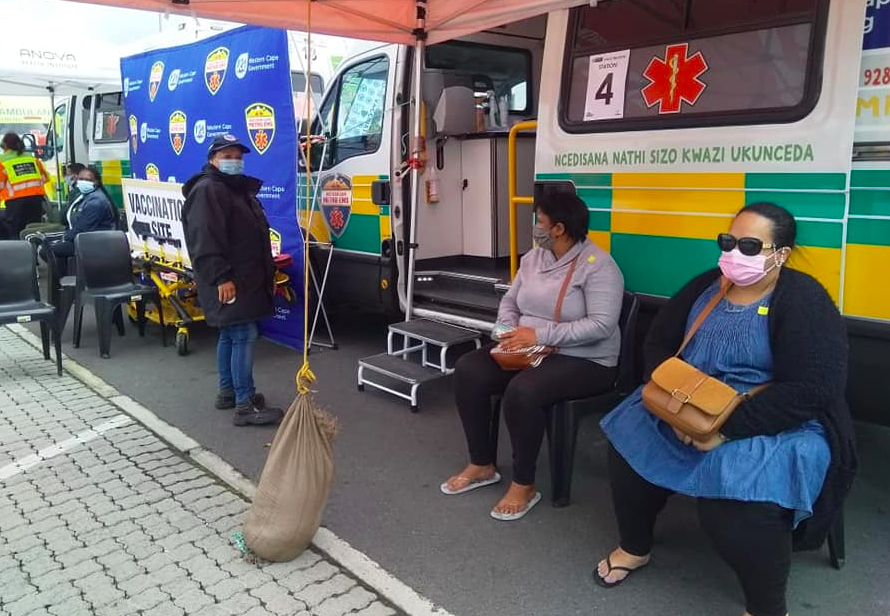 Vooma vaccination weekend kicks off in the Western Cape