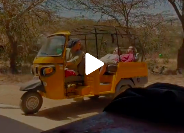 From Kenya to Cape Town on Tuk-Tuks - A kindness fueled adventure