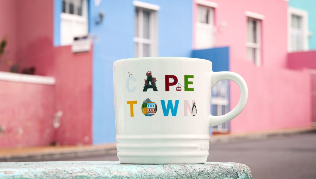 New destination mug features Cape Town, but locals aren't happy about the price