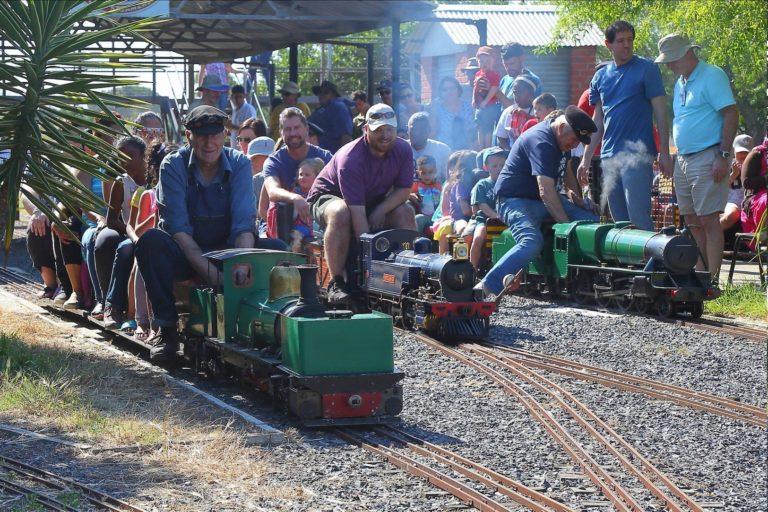 miniature steam train Cape Town