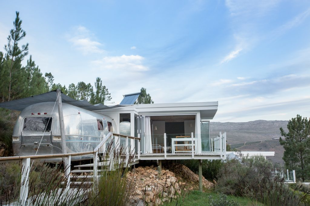 A tranquility seeker's paradise: the magic of Old Mac Daddy's airstream suite